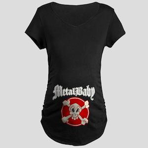 RockBaby MetalBaby Maternity Dark T-Shirt