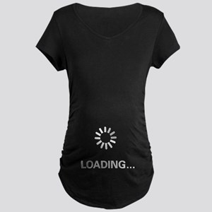 Loading Circle - Maternity Dark T-Shirt