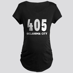 405 Oklahoma City Maternity T-Shirt