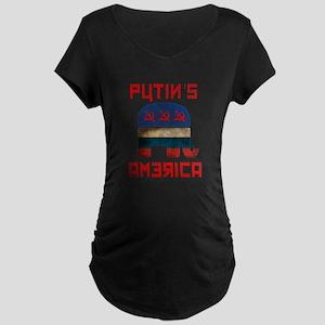 Putin's America Maternity T-Shirt