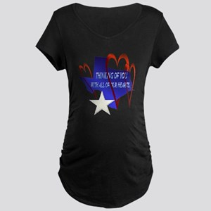 BEST WISHES, TEXAS Maternity T-Shirt