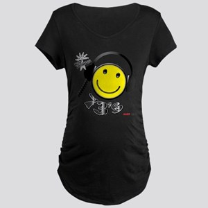 73's Maternity Dark T-Shirt