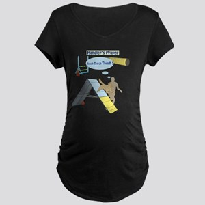 Handler's Prayer Maternity Dark T-Shirt