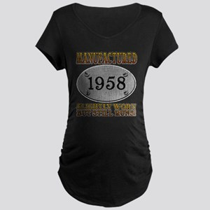Manufactured 1958 Maternity Dark T-Shirt