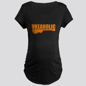 funny ukulele uke ukelele Maternity T-Shirt
