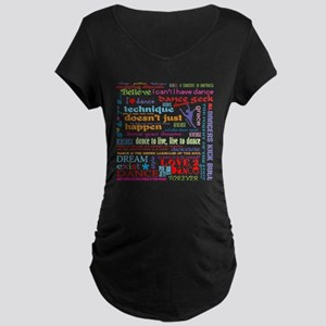 Ultimate Dance Collection Maternity Dark T-Shirt