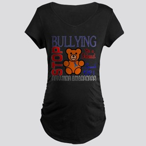 Bullying Awareness Maternity Dark T-Shirt