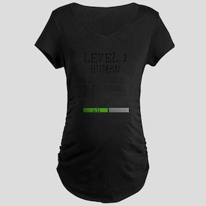 Level 1 Human Maternity T-Shirt
