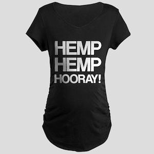 Hemp Hemp Hooray! Maternity T-Shirt