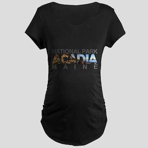 Acadia - Maine Maternity T-Shirt