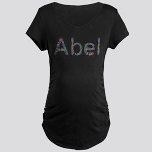 Abel Paper Clips Maternity Dark T-Shirt