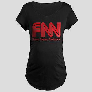FNN Fake News Network Maternity T-Shirt