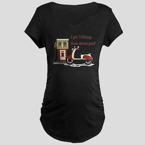 100 mpg Maternity Dark T-Shirt