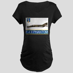 f4grey copy Maternity T-Shirt