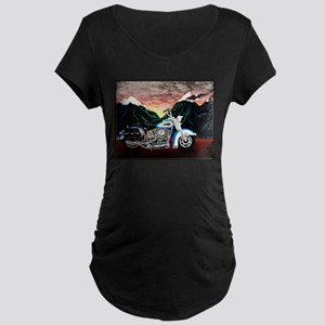 Motorcycle Dream Maternity T-Shirt