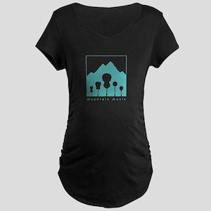 Mountain Music Maternity Dark T-Shirt