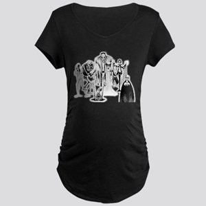 Classic movie monsters Maternity T-Shirt