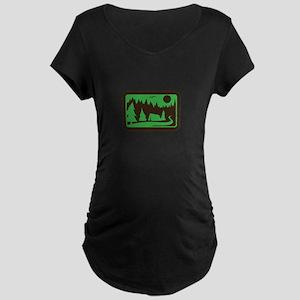 CAMPING Maternity T-Shirt