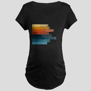 Spiritual Principles Maternity T-Shirt