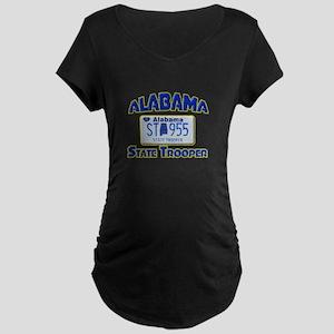 Alabama State Trooper Maternity Dark T-Shirt