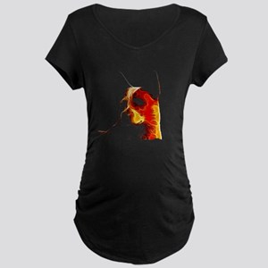Cattle Dog Fractal Maternity Dark T-Shirt