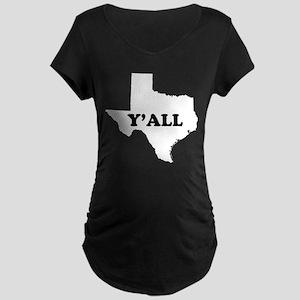 Texas Yall Maternity T-Shirt