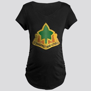 DUI - 4th Infantry Division Maternity Dark T-Shirt