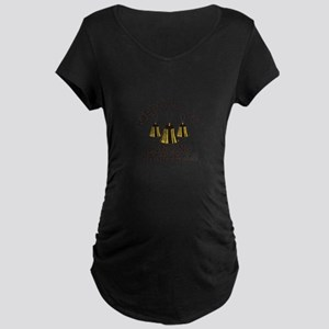 Happiness is Ringing Maternity T-Shirt