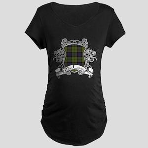 MacLaren Tartan Shield Maternity Dark T-Shirt