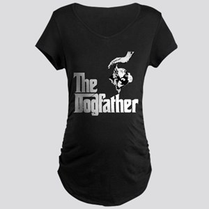 French Bulldog Maternity Dark T-Shirt