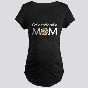 Goldendoodle Mom Maternity T-Shirt