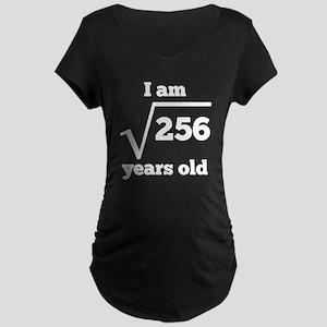 16th Birthday Square Root Maternity T-Shirt