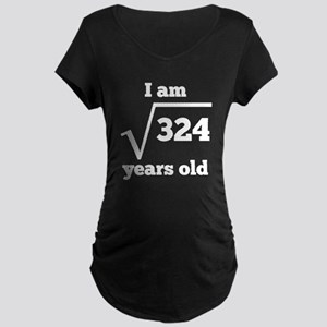 18th Birthday Square Root Maternity T-Shirt