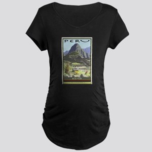 Peru Maternity Dark T-Shirt