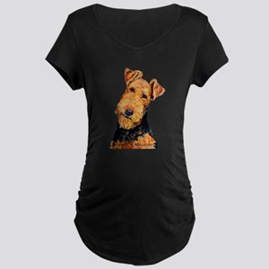 Airedale Terrier Maternity T-Shirt