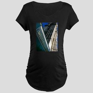 Westminster Abbey Maternity Dark T-Shirt