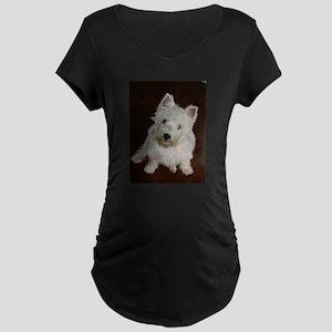 puppy west highland white terrier sitting Maternit