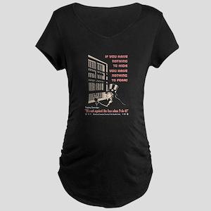 Peeping Sam Maternity Dark T-Shirt