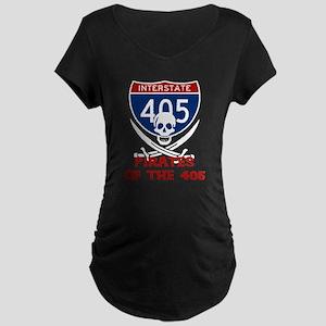 Pirates of the 405 Maternity Dark T-Shirt