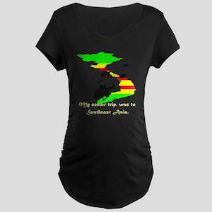 senior trip Maternity Dark T-Shirt