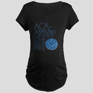 ACA-WHAT Maternity Dark T-Shirt