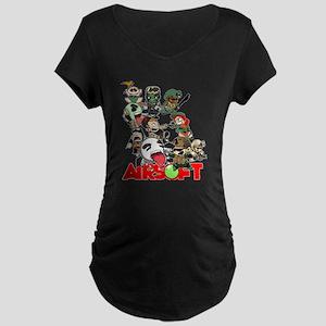 Airsoft Battle Royale Maternity T-Shirt