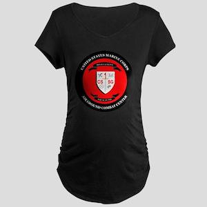 Combat Service Support Grou Maternity Dark T-Shirt