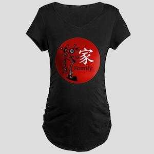 Family Maternity Dark T-Shirt