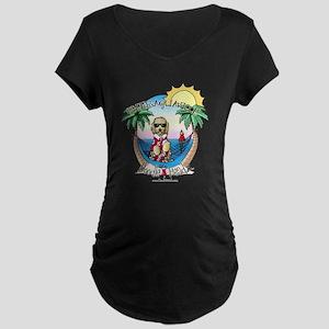 DoodleHeadz Logo Maternity Dark T-Shirt