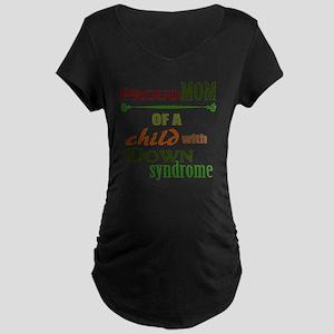 Proud Mom Maternity Dark T-Shirt