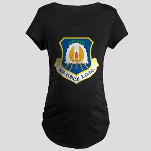 USAF ROTC Maternity Dark T-Shirt