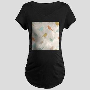 Pretty Birds Maternity T-Shirt