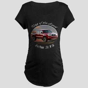 Toyota Tacoma Maternity Dark T-Shirt