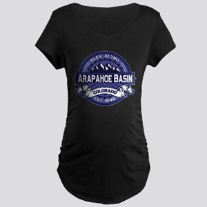 Arapahoe Basin Midnight Maternity Dark T-Shirt